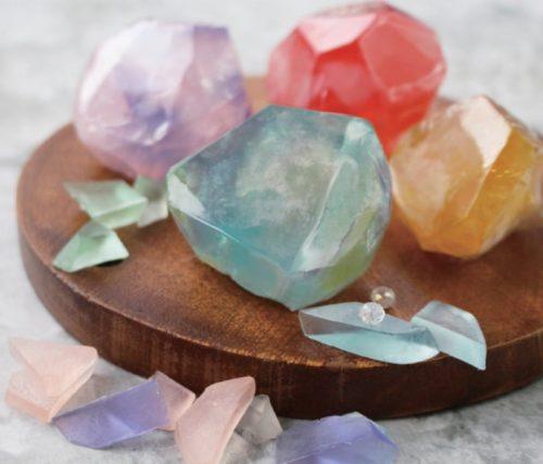 ~見てビックリ!!~ 本物そっくりな宝石石鹸作り